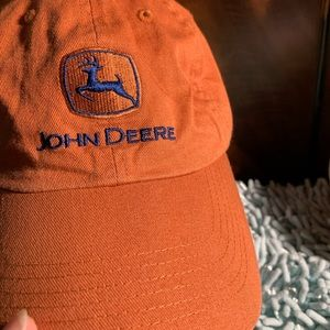John Deere cap orange T0206-1